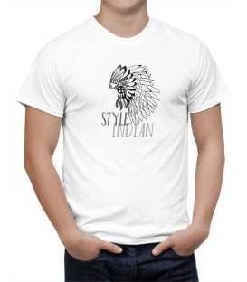 T-shirt homme modèle Indian Style