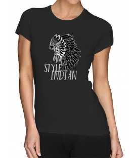 T-shirt femme modèle Indian Style
