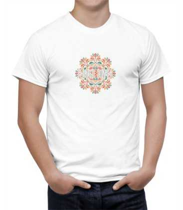 T-shirt homme modèle flower power