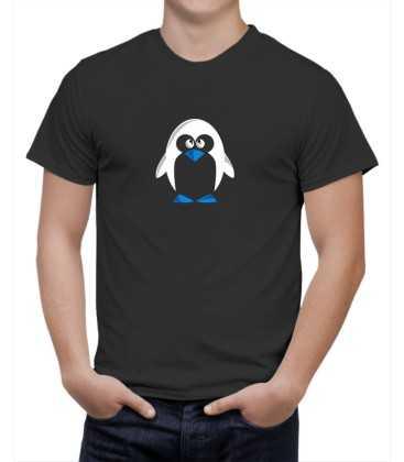 T-shirt homme modèle pingouin