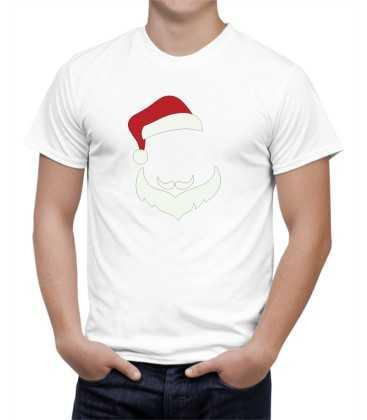 T-shirt homme modèle père noel