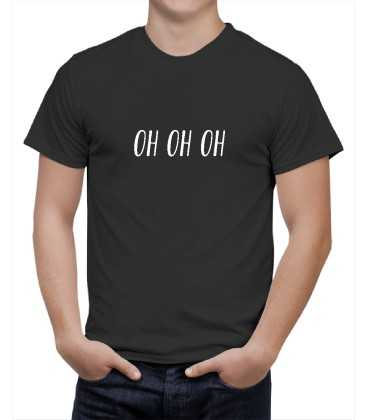 T-shirt homme modèle OH OH OH