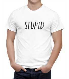 T-shirt homme modèle Stupid