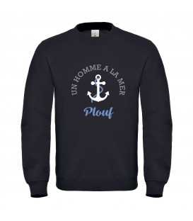 Sweat homme marin encre