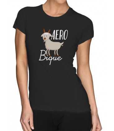T-shirt femme Sport Aerobic Biquette