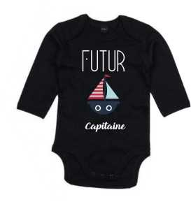 Body Bébé Futur Capitaine
