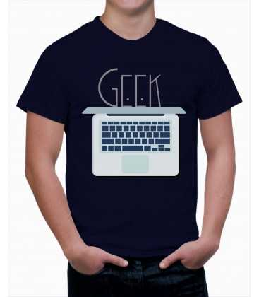 T-shirt homme Ordinateur Geek