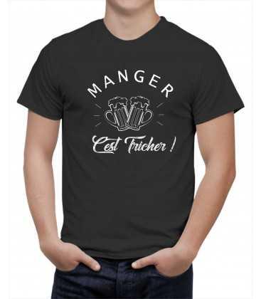T-shirt homme Manger c'est tricher