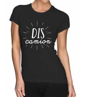 T-shirt femme Dis Camion